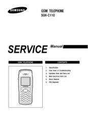 Buy Samsung SGH-C110 Mobile Phone Service Manual by download Mauritron #306287