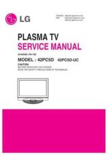 Buy LG 42PC5D Service Manual by download Mauritron #332117