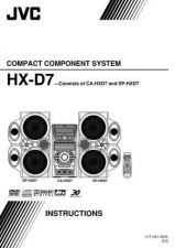 Buy JVC HX-D7-5 Service Manual by download Mauritron #274505