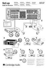 Buy Cambridge Audio AP200851Azur640RQuickStartGuide by download Mauritron #311776