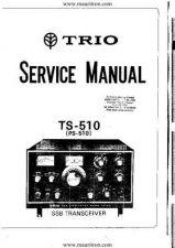 Buy TRIO. TS510. Ham Radio. Service Manual by download Mauritron #328053