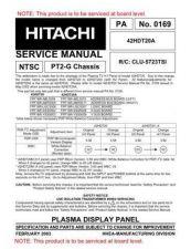 Buy Hitachi PA0169 Service Manual by download Mauritron #323269
