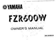 Buy Yamaha 3HG-28199-20 Motorcycle Manual by download #334114