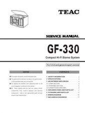 Buy Teac GF-480 Service Manual by download Mauritron #319401