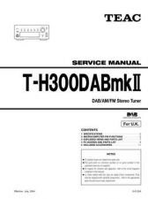 Buy Teac T-H300DAB Service Manual by download Mauritron #319567