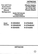 Buy Hitachi R-530ARU5X_EL Service Manual by download Mauritron #290892