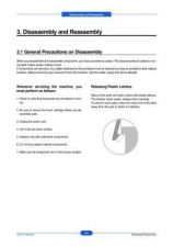 Buy 20080513101211734 03-DISASSEMBLY Manual by download Mauritron #302817