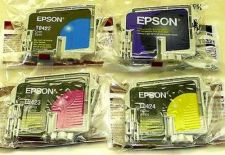 Buy Epson T0321 T0322 T0323 T0324 ink jet Cartridges C80 C80N CX5100 CX5300 printer