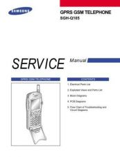 Buy Samsung SGH-Q105 Mobile Phone Service Manual by download Mauritron #306410