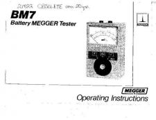 Buy Megger 21J a Operating Guide by download Mauritron #310007