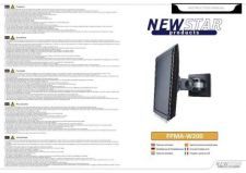 Buy Newstar FPMA W200 Audio Visual Instructions by download #333549