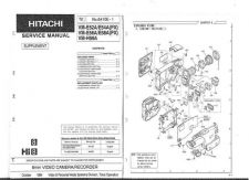 Buy Hitachi VM-7300A Service Manual by download Mauritron #286752