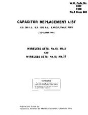 Buy Military EMER F256-3 WS19Mk3 Capacitor Replacement List by download #334908