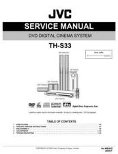 Buy JVC TH-S33-3 Service Manual by download Mauritron #283994