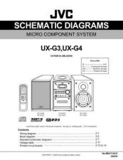 Buy JVC UX-G3-18 Service Manual by download Mauritron #284204
