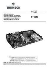 Buy RCA ETC310 TV Service Manual by download Mauritron #322769