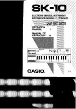 Buy Casio sk10 manual by download #333287