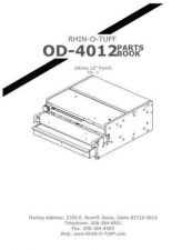 Buy Office Equipment OD 4012 PARTS by download #335577