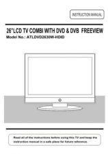 Buy Akura ATLDVD2630W-HDID IB Service Manual by download Mauritron #330314