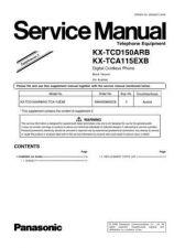 Buy Panasonic TCD150AR_3 Manual by download Mauritron #301892