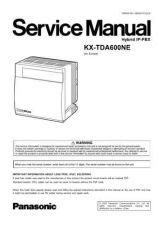 Buy Panasonic TDA600NE Manual by download Mauritron #302221