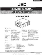 Buy JVC LX-D1000U Service Manual by download Mauritron #275443