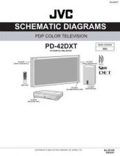 Buy JVC PD-42DXT-3 Service Manual by download Mauritron #283023