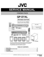 Buy JVC QP-D7AL Service Manual by download Mauritron #283045
