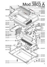 Buy Office Equipment IDEAL 3803 A CROSSCUT 2X15 SHREDDER PARTS by download #335525