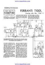 Buy FERRANTI T1001 by download Mauritron #315372