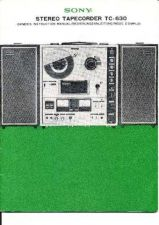 Buy Sony TC630 Tape Recorder by download Mauritron #331605