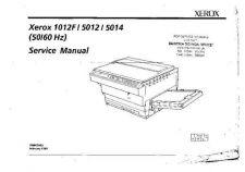 Buy XEROX 5012 Copier Service Manual by download Mauritron #331104