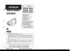 Buy Hitachi VM-8300A-2 Service Manual by download Mauritron #286761