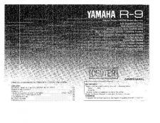 Buy Yamaha R9 Operating Guide by download Mauritron #315350