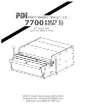 Buy Office Equipment HD-7700 PARTS by download #335451