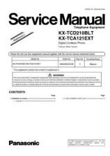Buy Panasonic KX-TCD202CEC Manual by download Mauritron #299999