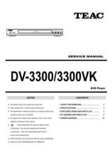Buy Teac DV3000_EUR Service Manual by download Mauritron #319360