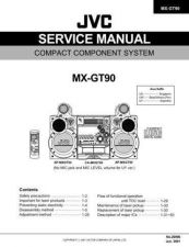 Buy JVC MX-GT90 Service Manual by download Mauritron #282852