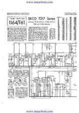 Buy EKCO. T217. Equipment. Service Information. by download Mauritron #314804