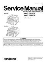 Buy Panasonic FLB803_813_71 Manual by download Mauritron #299302