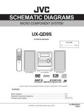 Buy JVC UX-QD9S-3 Service Manual by download Mauritron #277214