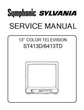 Buy Emerson 6413TD Service Manual by download Mauritron #330523