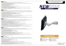 Buy Newstar FPMA W920 Audio Visual Instructions by download #333571