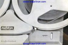 Buy Revox G36 Tape Recorder Operating Guide in German by download Mauritron #327001