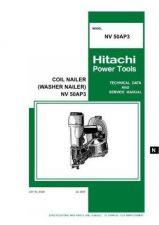 Buy Hitachi NV-50AP3 Tool Service Manual by download Mauritron #320138
