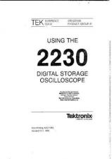 Buy TEKTRONIX. 2230. Operating Guide. by download Mauritron #324851