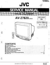 Buy JVC AV29BD3 Service Manual by download Mauritron #332047