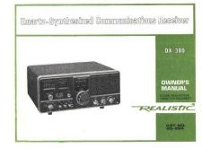 Buy Realistic 20-204 Receiver Operating Guide by download Mauritron #330940