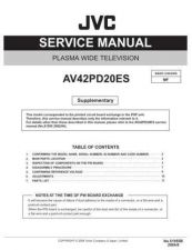 Buy JVC AV-N65P74 Service Manual by download Mauritron #280072