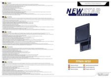 Buy Newstar FPMA W50 Audio Visual Instructions by download #333553